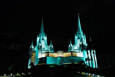 San Diego California Temple - San Diego