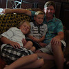 Tammy's family - (L->R) Trevor, Bryce, and (dad) Shannon