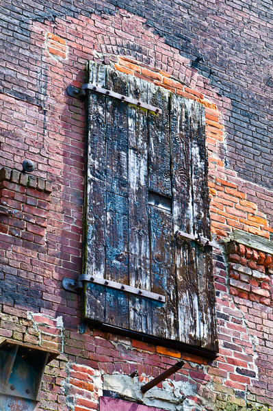 Weathered door from nowhere