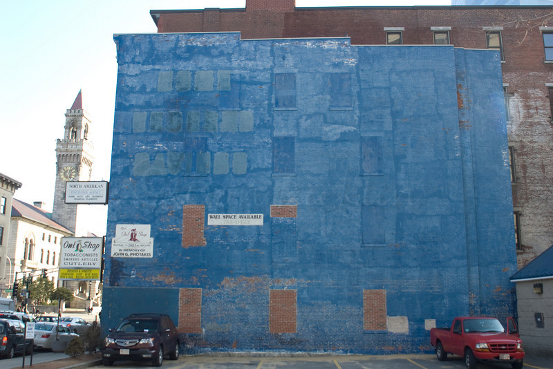 Blue Wall. No more windows!