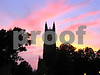 IMG_1468 Duke Chapel hz great sunset black sil