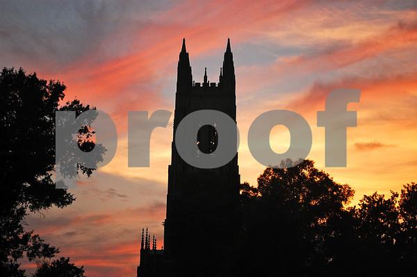 4th of July 2012, Duke Chapel, Old Bull, Fireworks