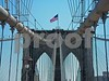 The Brooklyn Bridge is an American architectural icon.  Here's the original photo.