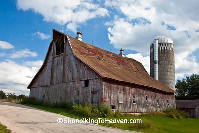 Unique Barn on Rustic Road, Vernon County, Wisconsin
