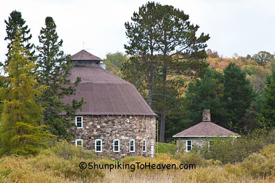 Annala Round Barn, Iron County, Wisconsin