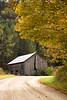 Gray Barn in Autumn, Richland County, Wisconsin