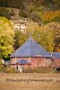 Octagon Barn in Autumn, Sauk County, Wisconsin