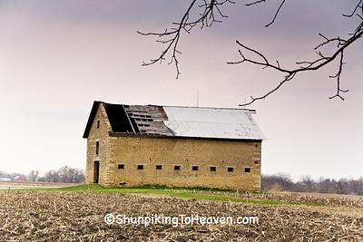Stone Barn, LaSalle County, Illinois