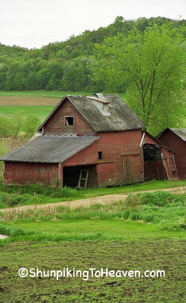 Granary, Herman Ringelstetter Farm, Wilson Creek, Sauk County, Wisconsin