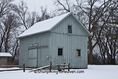 Hansen's Granary, Pioneer Aztalan, Jefferson County, Wisconsin
