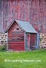 Red Milkhouse, Richland County, Wisconsin
