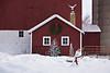 Christmas Farm Scene, Sauk County, Wisconsin