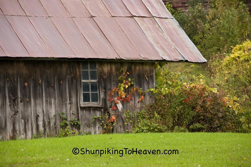 Farm Shed in Autumn, Winona County, Minnesota