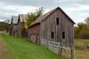 Row of Farm Buildings, La Crosse County, Wisconsin