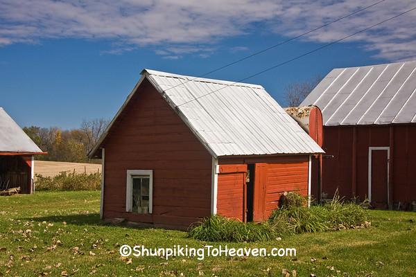 Outbuilding at Mulford Farm, Johnson County, Iowa