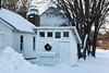 Chicken Coop at Christmas, Vernon County, Wisconsin