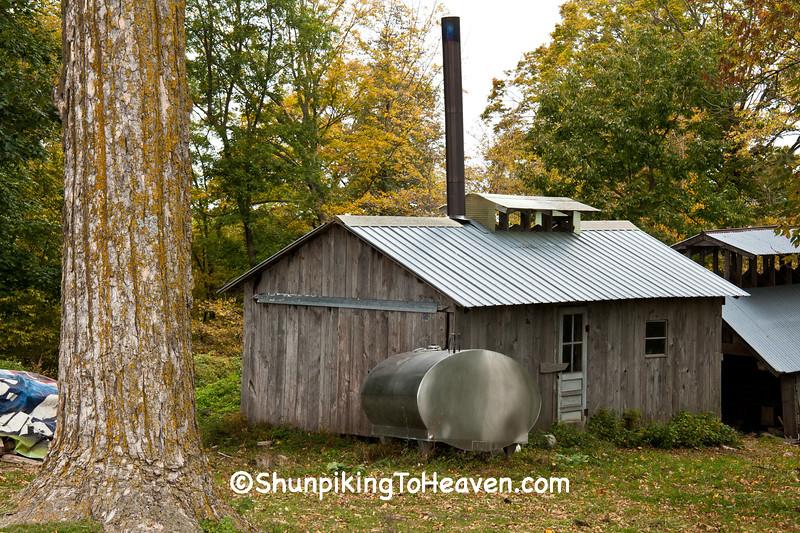 Sugar Shacks, Vernon County, Wisconsin