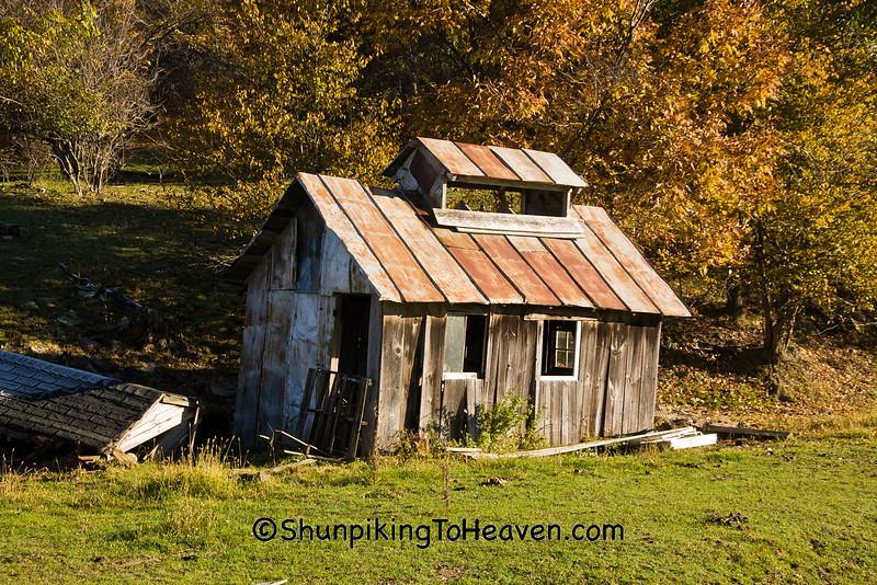 Old-fashioned Sugar Shack, Monroe County, Wisconsin