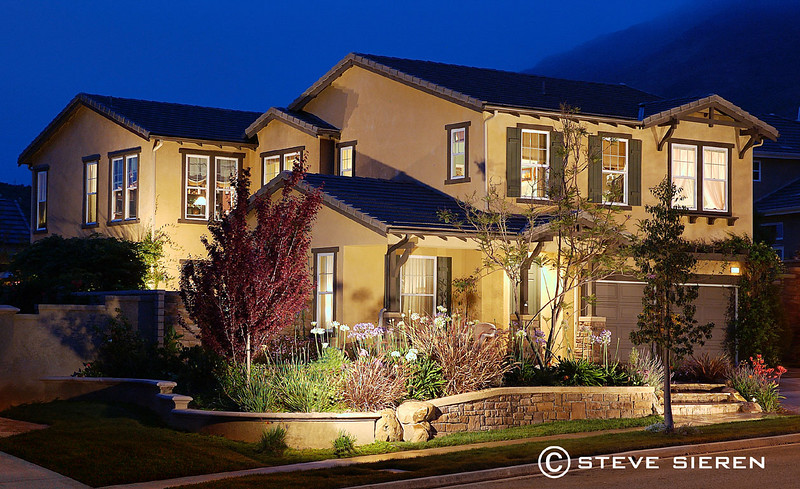 Summer Night in Dos Vientos 2005<br /> Los Angeles Real Estate Photographer