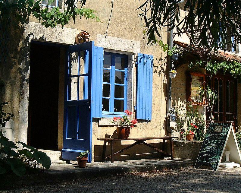 a restaurant  near castel