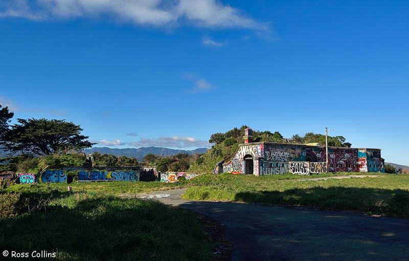 Fort Ballance Coastal Defence Installation, Miramar Peninsular, Wellington, 17 July 2018