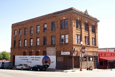 Former furnitue store and Masonic Lodge in Stockyards