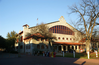 The Stockyards Coliseum was built in 1908 to house the Southwestern Exposition and Livestock Show.  It also home to the first indoor rodeo which was held in 1917.
