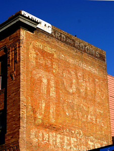 Great ghost sign found on one of the buildings in the stockyards.