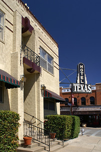 Hotel Texas in the Fort Worth Stockyards.  Still in operation.