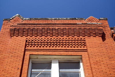 The brick detail is amazing on this building.