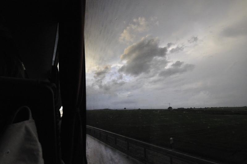 Bouře nad Německem (z cesty do Provence)