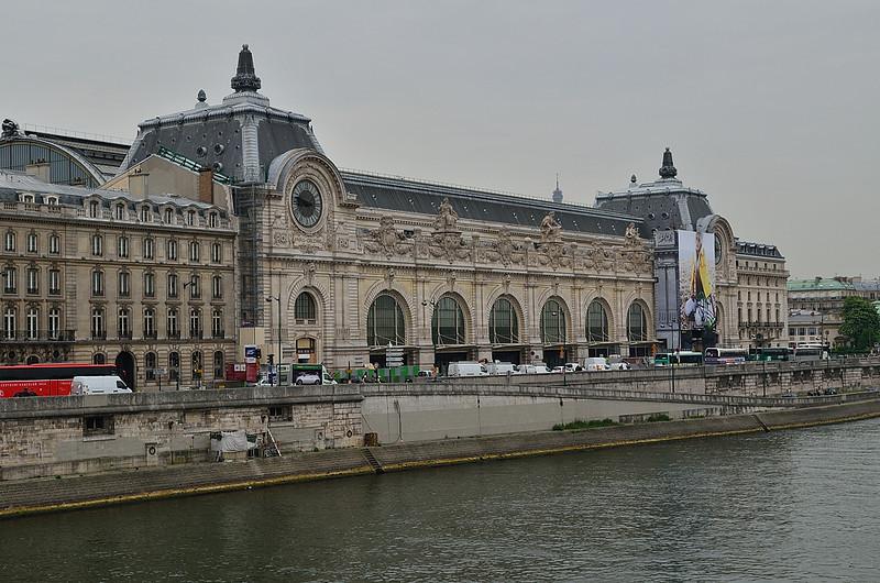Muzeum d´Orsay, kde jsou především sbírky impresionistů