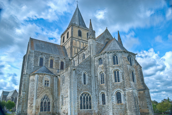 Cerisy-le-Foret - The Abbey Church