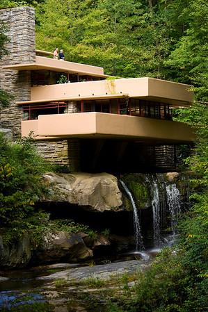 Frank Lloyd Wright's Fallingwater,  Sept. 2009
