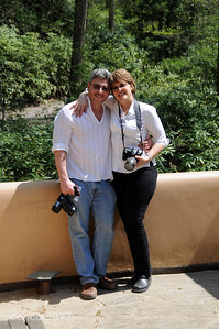 Serge, Dona, Ron - Fallingwater - 5/1/2010