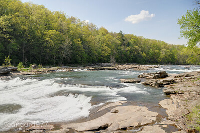 Ohiopyle Rapids - 5/1/210