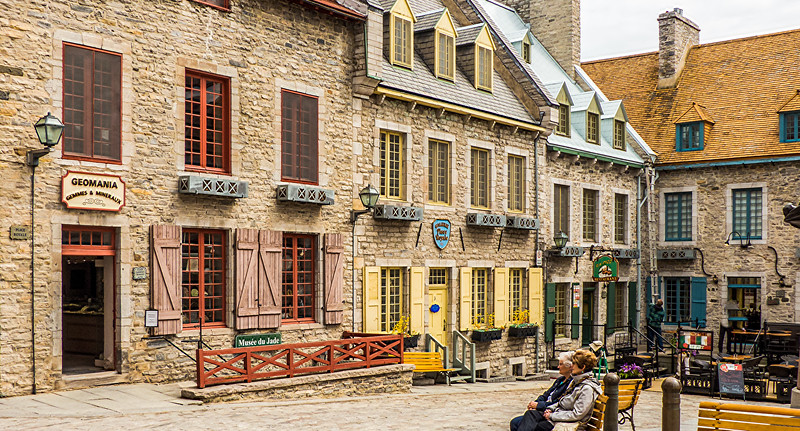 Quebec City Shops