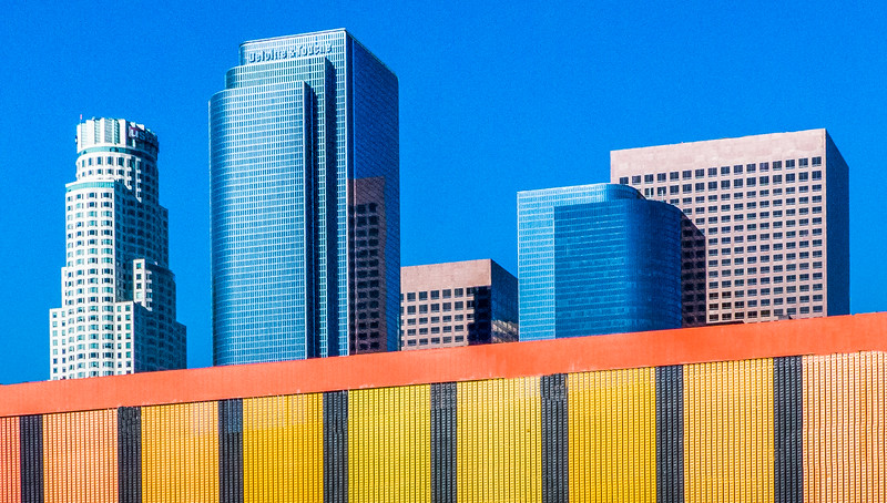 Office Buildings From LA Art District - Los Angeles