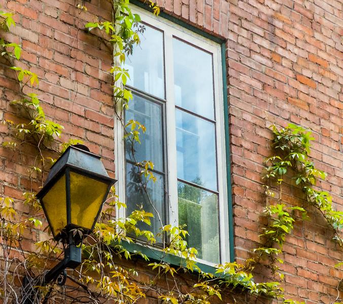 Quebec City Window Detail