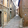 Typical Narrow Sreet - Cortona, Italy