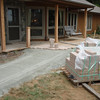 New sidewalk going in. It will eliminate the step up to the porch.