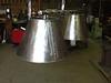 Steel kitchen lamp