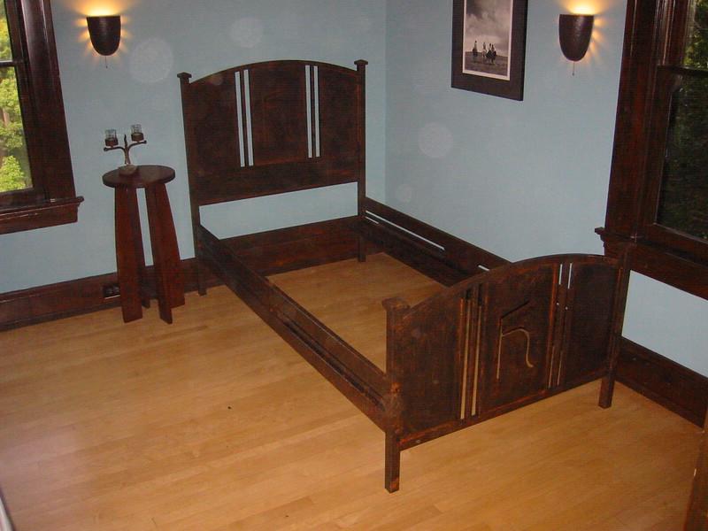 Western style bedframe - Pasadena, CA