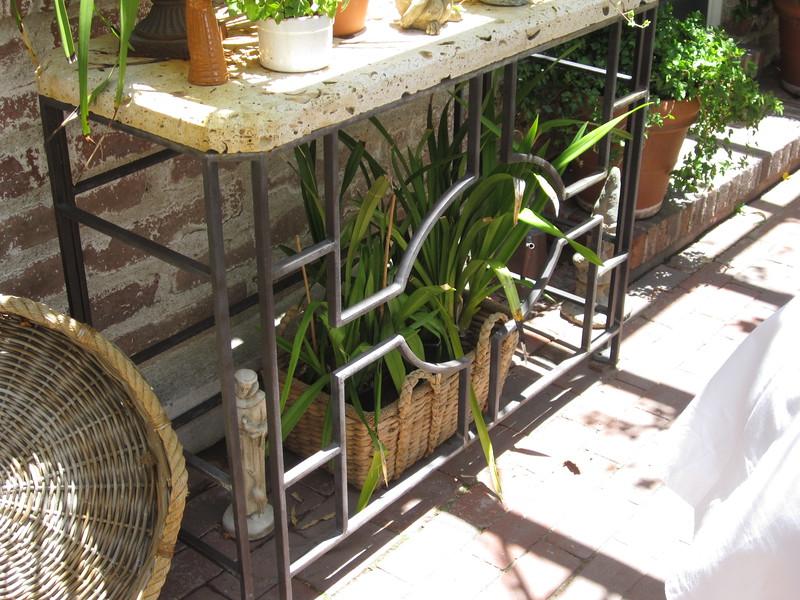 Garden Table - Pyle residence, Pasadena, CA