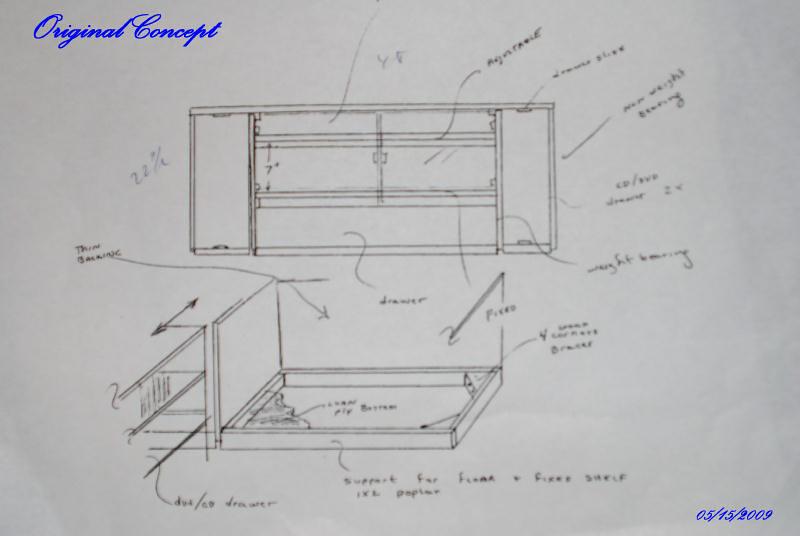 Original Idea and sketch (~5/2009)