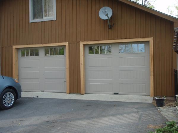 The new doors.