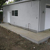 10/22/2010 - pathway to side of garage...