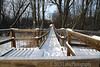 Winter in Spring Valley Nature Sanctuary. Schaumburg, Illinois