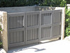 Trash enclosure gate - La Loma Ave., Pasadena, CA