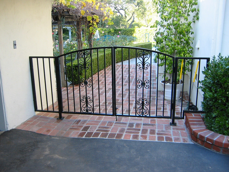 Side gate - Carpenter residence, La Canada, CA